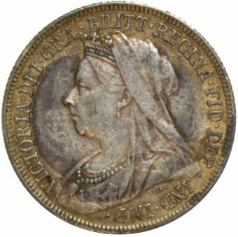 1897 Shilling (Old Head) Good Extremely Fine_obv