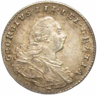 1800 Maundy Penny Unc