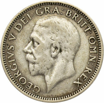 George V, 1935 Shilling Very Good – Fine