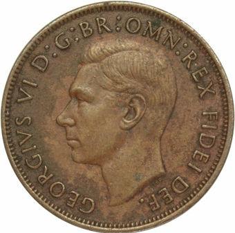 1950 'Rare' Penny Fine_obv