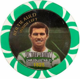 Celtic Football Chip Bertie Auld_obv