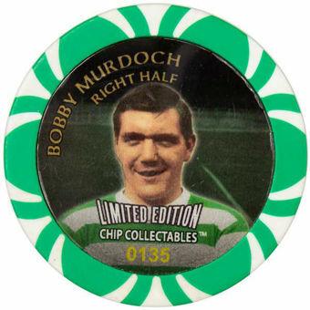 Celtic Football Chip Bobby Murdoch_obv