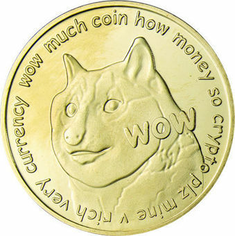 Pair of Dogecoins in Presentation Case