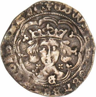 Edward IV, 1461-1470. Groat, York Mint. Light coinage. Good Fine_obv