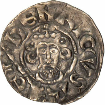 John. 1199-1216, Short Cross Penny, Canterbury Mint.EF_obv