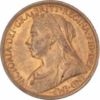 1895 Old Head Penny  BU Choice_obv
